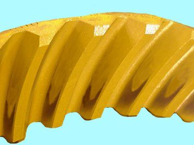 Dana Spicer used Ring and pinion tooth contact pattern