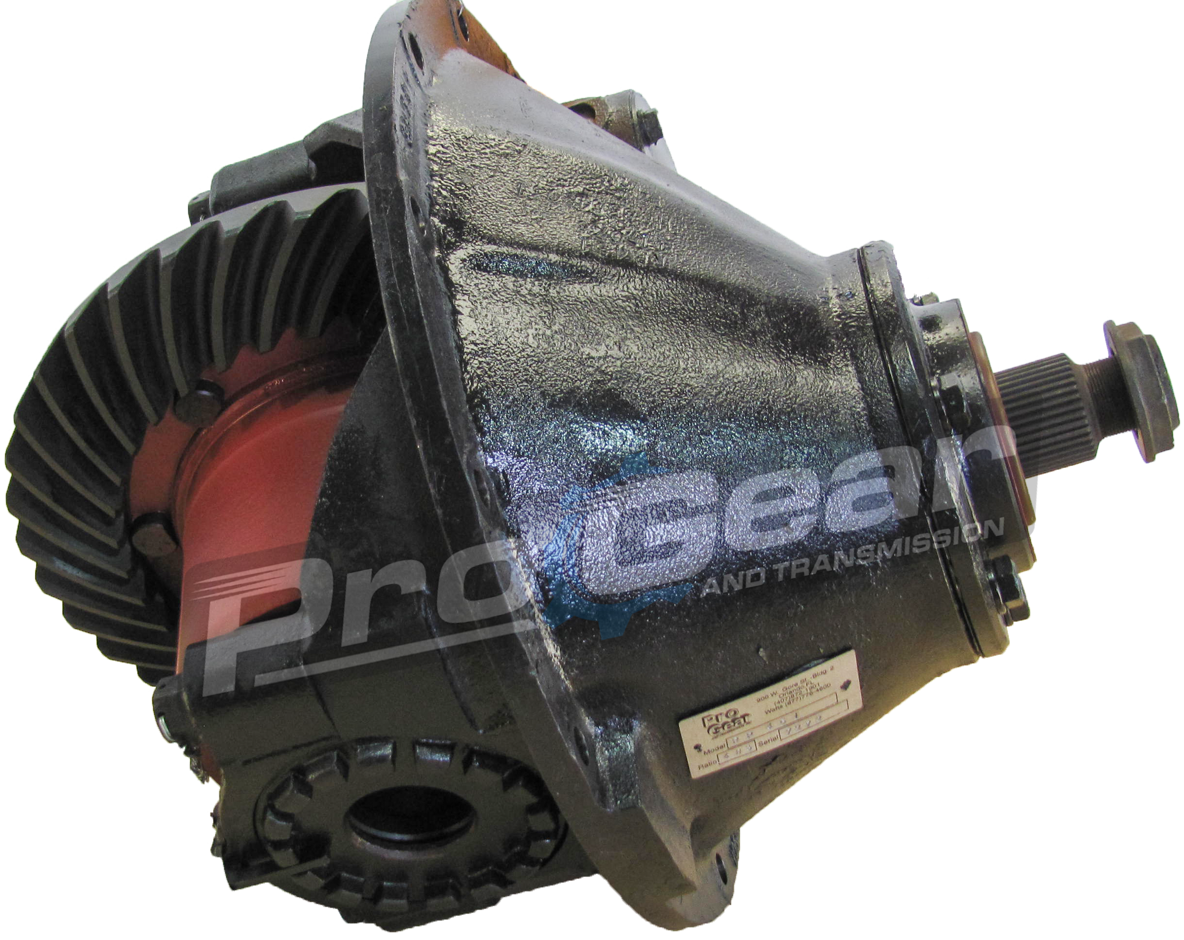 Eaton Spicer RT400 differential