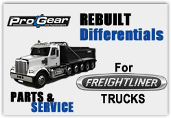 Freightliner differentialer